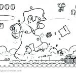 Super Mario Coloring Pages Inspired Super Mario World Coloring Pages – Vitalmethod