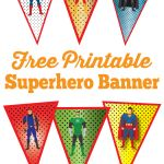 Superhero Logo Printable Excellent Justice League Inspired Superhero Banner