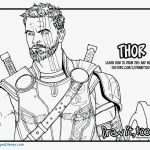 Superheroes Printable Coloring Pages Inspirational Thor Coloring Pages