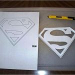 Superman Logo Printables Fresh Printable Superman Logo Template Printable Superman Template