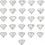 Superman Logo Printables Inspirational Printable Superman Logo Letter … Wrestling