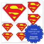 Superman Logo Printables Inspirational Printable Superman Logos