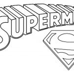 Superman Logo Printables Unique Superman Coloring Pages