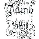 Swear Coloring Pages Amazing Printable Swear Word Coloring Pages Free Luxury Free Downloadable