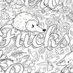 Swear Coloring Pages Brilliant √ Swear Word Coloring Pages and Free Curse Word Coloring Pages