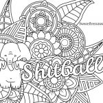 Swear Coloring Pages Excellent Swear Word Coloring Pages Printable Free Awesome Cool Vases Flower