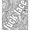 Swear Word Coloring Book Pages Inspiring 453 Best Vulgar Coloring Pages Images In 2017