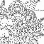 Swear Word Coloring Book Printable Awesome New Curse Word Coloring Page 2019