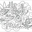 Swear Word Coloring Book Printable Fresh Stoner Coloring Pages – Johnrozumart
