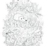 Swear Word Coloring Book Printable Unique Free Swear Word Coloring Pages Pdf – thewestudio