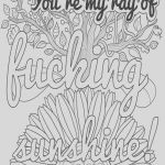 Swear Word Coloring Pages Awesome Christmas Coloring Printables toiyeuemz