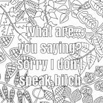 Swear Word Coloring Pages Exclusive Free Curse Word Coloring Pages Lovely Free Coloring Pages Words New