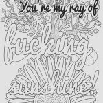 Swear Word Coloring Pages Printable Exclusive Free Printable Christmas Coloring toiyeuemz