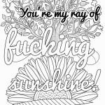 Swear Word Coloring Pages Printable Marvelous 42 New Unicorn to Print Free