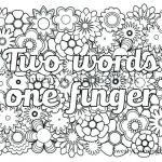 Swear Word Coloring Pages Printable Pretty Free Swear Word Coloring Pages Pdf – thewestudio