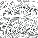 Swear Word Coloring Pages Printable Wonderful Coloring Pages Printable Free Swear Word Curse Pdf Cuss Swea – Betterfor