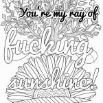 Sweary Coloring Pages Beautiful New Curse Word Coloring Page 2019