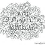 Sweary Coloring Pages Marvelous Free Printable Swear Word Coloring Pages Fresh R Word Coloring Pages