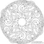 Tattoo Design Coloring Pages Awesome Celestial Mandala Box Card and Coloring Page
