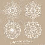 Tattoo Design Coloring Pages Inspirational Fotografie Obraz Tibetan Mandala Decorative ornament Design for