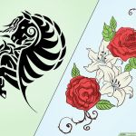 Tattoo Design Coloring Pages Inspirational How to Design Your Own Tattoo 14 Steps with Wikihow