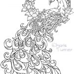 Tattoo Design Coloring Pages Inspirational Realistic Peacock Coloring Pages Free Coloring Page Printable