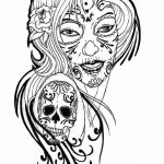 Tattoo Design Coloring Pages Inspiring Free Free Skull Tattoo Designs to Print Download Free Clip Art