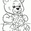 Teddy Bear Coloring Pages Exclusive Coloring Free Printable Valentines Dayng Pages for Adults Summer