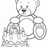 Teddy Bear Coloring Pages Free Printable Brilliant New Picnic Scene Coloring Pages – Nocn