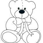 Teddy Bear Coloring Pages Free Printable Brilliant Preschool Bear Craft Crafts for Brown Kids Best Baby Polar