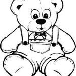 Teddy Bear Coloring Pages Free Printable Inspiring 8 Best Teddy Bear Coloring Pages Images In 2017