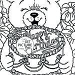 Teddy Bear Coloring Pages Free Printable Marvelous Barney Happy Birthday Coloring Pages – Jeanettewallis