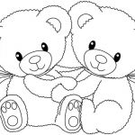 Teddy Bears Coloring Page Beautiful American Black Bears Coloring Pages