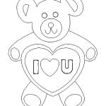 Teddy Bears Coloring Page Best Teddy Bears Coloring Page – Evanstonrocketub