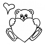 Teddy Bears Coloring Page Brilliant Cute Teddy Bear Coloring Pages