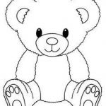 Teddy Bears Coloring Page Elegant New Teddy Bear Coloring Page