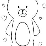 Teddy Bears Coloring Page Exclusive Little Bear Coloring Pictures – Mymandarinfo