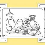 Teddy Bears Coloring Page Inspiration Teddy Bears Early Years Eyfs Teddy Nursery Posters Display