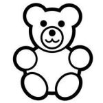 Teddy Bears Coloring Page Inspirational 8 Best Teddy Bear Coloring Pages Images In 2017