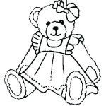 Teddy Bears Coloring Page Pretty Gummy Bear Coloring Pages – Lyeciesfo
