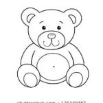 Teddy Bears Coloring Pages to Print Awesome Teddy Bear Drawing Stock S & Vectors