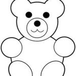 Teddy Bears Coloring Pages to Print Best 16 Best Teddy Bear Drawing Images In 2019