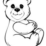 Teddy Bears Coloring Pages to Print Brilliant 8 Best Teddy Bear Coloring Pages Images In 2017