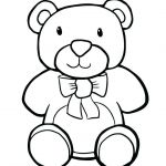 Teddy Bears Coloring Pages to Print Marvelous Teddy Bear Coloring Page Lovely Teddy Bear Coloring Page New Kawaii