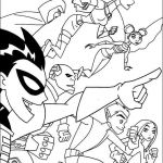 Teen Titans Coloring Book Awesome Starfire and Raven Coloring Pages New Digital Coloring From Teen