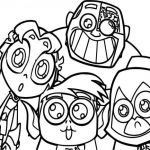 Teen Titans Coloring Book Inspiring Coloring Design Teenage Coloring Sheets Free Library Pages Teens