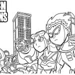 Teen Titans Coloring Pages Fresh Teen Coloring Pages Coloring Pages for Children