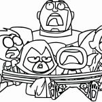 Teen Titans Coloring Pages Inspirational Teen Titans Show