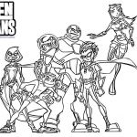 Teen Titans Coloring Pages Unique Teen Titans Go Coloring Page – Waggapoultryub