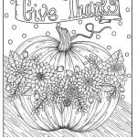 Thanksgiving Coloring Book Amazing Give Thanks Digital Coloring Page Thanksgiving Harvest